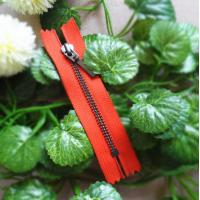 Buy cheap 4# Metal Teeth Closed End Zipper With Auto Lock Slider And Long Puller product