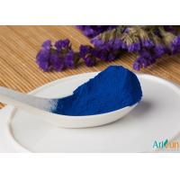 Buy cheap Excellent Water Soluble Effect and Safe Natural Food Coloring Powder Skye Blue Phycocyanin Powder product