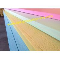 Yellow blue green pink 2440 x 1220 x 100mm rigid for 100mm polystyrene floor insulation