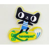China Funny Cat Silicone Fridge Magnet,Multi Colored Fridge Magnet For Home Decoration on sale