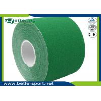 5cm x 5m Kinesiology Tape Kinesio Tape Waterproof Pure Cotton,Sports Safety Muscle Tape Green Colour