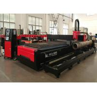 Buy cheap Thick Metal Plate And Steel Tube CNC Plasma Cutting Machine With USA Hypertherm product