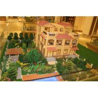 Architectural villa design model with led light for Architecture models for sale