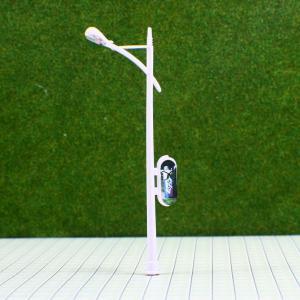Buy cheap Farol miniatura plástico del modelo de escala de la calle de la cartelera de RC100 6V para la disposición el 10cm del tren product