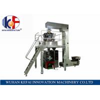 Buy cheap KEFAI Automatic Grade Weighing Granuel Pouch Chips Packing Machine from wholesalers