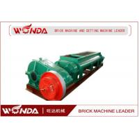 China Automatic Steel Double Shaft Mixer , Clay Brick Mixer 55 KW Wear Resistant on sale