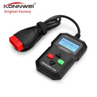 Buy cheap KONNWEI KW590 Car Engine Tester Fault Diagnostic Scanner Code Reader Long Lifespan product