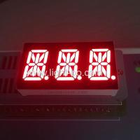 Buy cheap Triple Digit LED 14 Segment Display 0.54 Inch Super Red For Temperature Control product