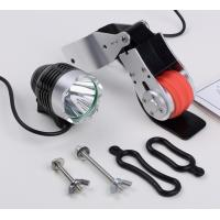 China Front Dynamo Bicycle Light 8W ,  Generator USB Cable Length 80cm wholesale