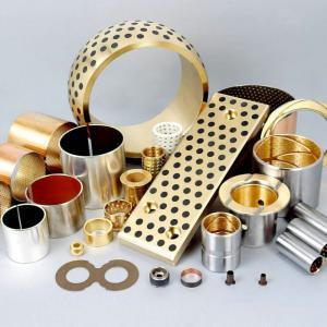 Buy cheap High Load Capacity CuSn8P CuSn6.5P Wrapped Bronze Bushings product
