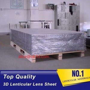 Buy cheap 3D Lenticular sheet 40LPI board 120x240cm, 3.95mm lenticular sheet for 3d and flip lenticular effect by injekt print product