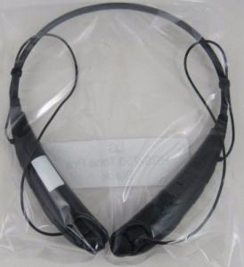 NOUVEAU casque VÉRITABLE de stéréo de Bluetooth de noir du ton PRO™ HBS-750 d'atterrisseur