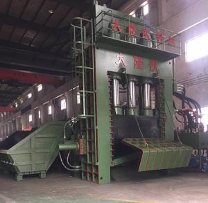 Buy cheap 高い生産性の油圧金属のくずの梱包機機械ベール サイズ 650*550 mm product