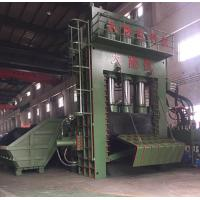 Buy cheap PLC Operation Scrap Steel Baling Press With Manual Valve / Scrap Aluminum Baler product