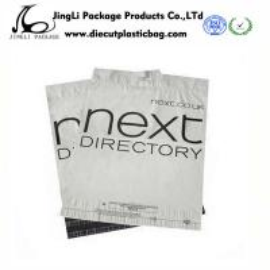 Buy cheap Logo Printed Die cut LDPE Classic plastic gif bag , PE Durable poly bag product