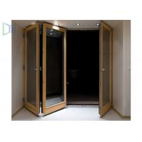 Buy cheap Customerized Size Aluminium Folding Doors With Powder Coating Surface Treament product