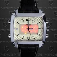 Buy cheap Weide Soldier Dual Time Wrist Watches 30m Waterproof ,Outdoor Sport Watches product