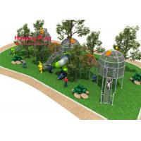 Buy cheap Bird'S Nest Type Rope Climbing Playground Equipment Include Six Strands Steel Wire Plastic product