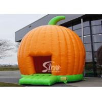 Buy cheap Halloween Inflatables Giant Pumpkin Kids Bounce House Double for outdoor party product
