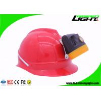 China Rechargeable Cree Led Headlamp , 10000 Lux Cordless Mining Cap Lamp with Charging Indication Switch IP68 on sale