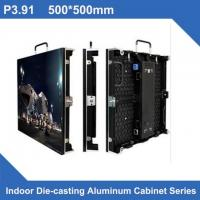 Buy cheap Full Color Indoor LED Panel Rental Display P3.91 500*500/1000mm , Novastar Control from wholesalers