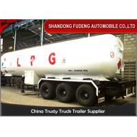 Buy cheap Gas Ammonia Liquid LPG Tank Trailer Volume 49.1 Cubic Meter Steel Material product