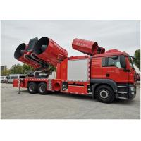 Buy cheap Large Smoke Exhaust Fire Fighting Truck 6*4 Drive Type 28t Weight 2300N Maximum Torque product