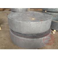 China High - speed Hydraulic Internal Ring UT Gear Flange Forging For Rail on sale