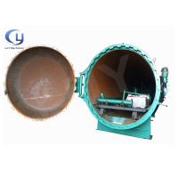 Buy cheap Automated Control Pressure Pole Treatment Plant Autoclave Wood Horizontal Type product