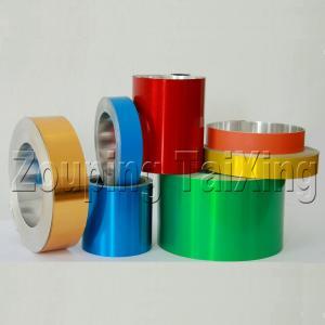 Buy cheap シール及びガラスびんのシールを離れたフリップのための8011 0.18mmのラッカー アルミニウム コイル product
