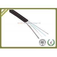 Buy cheap Singlemode FTTH Fiber Optic Cable Metal Strength Member For High Speed Optical Routes product