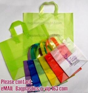 China Shopper, Shopping bags, Soft loop handle, Die cut handle, Flexi loop handle, Thermal bags on sale