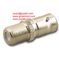 China BNC Female To F Male BNC Adapter female to F connector female Coaxial Adaptor all brass on sale