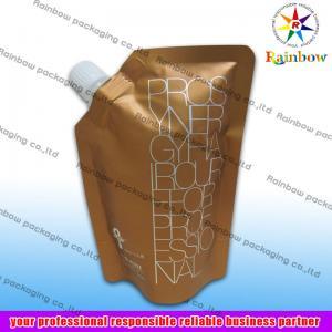 Buy cheap bolsa lateral del canalón que empaqueta para la bebida, bolso inferior del escudete product