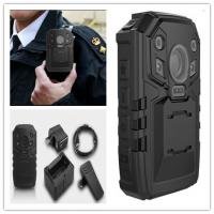 China Ambarella 5MP CMOS Police Body Worn CCTV Cameras with H.264 Multiple Recording Resolution on sale