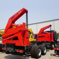 China self loading container truck for loading 20ft container | TITAN on sale