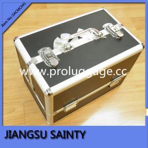 Buy cheap Cas cosmétiques du solide SACMC041 de voyage de haute qualité d'unité centrale product
