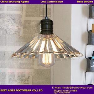 Buy cheap 家の装飾のための良質の現代明確なガラス花の形のシャンデリア ライト product