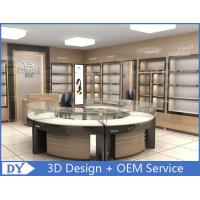 Round Glasses Jewellery Shop Counter Design Manufacturers