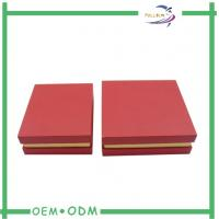 Quality Golden Paper Perfume Gift Box With Lid for sale