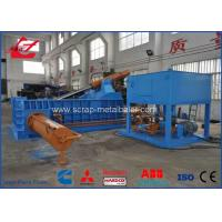 Buy cheap Powerful Force Push out Hydraulic Scrap Tyre Wire steel Baler Machine Full Automatic Control product