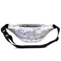 Buy cheap Fashion Geometric Pattern Waist Fanny Pack Laser PVC Material Made product