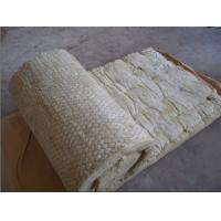 Sound absorption and fireproof rock wool insulation blanket roll