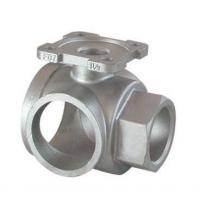 Buy cheap Hydraulic Part Stainless Steel Casting Valve Part Pipe Fitting Joints Coupling Acid Washing product