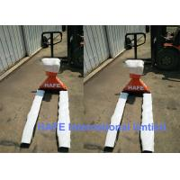 Buy cheap Manual Heavy Duty 2 Ton Hand Pallet Truck With Printer Easy Operation product