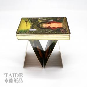China Custom Printing Attractive Oracle Card Decks Entertainment Fun tarot cards on sale