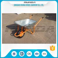 China 4.5CBF Heavy Duty Wheelbarrow Wb6414K, 85L Capacity Yard Garden Cart Various Size on sale