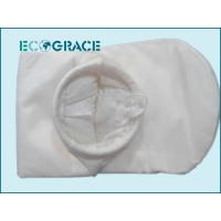 Buy cheap 200 Micron Polyester Felt Liquid Industrial Filter Bags Plastic Ring / Galvanized Steel Ring product