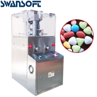 Buy cheap Swansoft ZP-5/ZP-7 rotary tablet press machine pill maker tablet pressing machine product