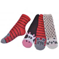 Warm spa aloe infused socks for men polyester plush therapy SSP-20